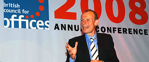 Andrew Marr speaks at the BCO Conference in Brussells 2008