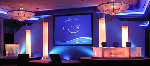 A Financial Results Conference in Central London