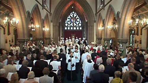 Ordination of the Bishop of Wrexham - September 2012